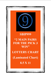 999 Two Main Pairs For The Pick 3 Win Chart 999 Lottery
