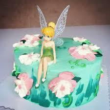 6pcs Set Cute Beautiful Tinkerbell Princess Doll Cake Topper