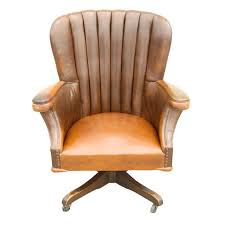 vintage leather office chair. Large Vintage Desk Chair With Original Leather Circa 1940\u0027s At 1stdibs Regarding Office Buying