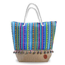 summer beach bags. Brilliant Bags Large Beach Bag Tote Perfect Summer Bag Blue Bags And Totes Canvas Intended Summer Bags