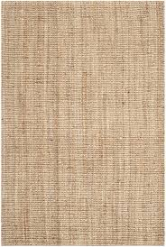 safavieh natural fiber collection nf447a hand woven natural jute area rug 8 x 10
