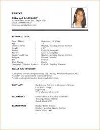 Resume Sample Format For Job Application Hirnsturm Resume Custom Resume Sample Format For Job Application