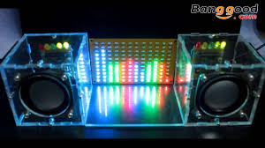 LED Music Spectrum Electronic <b>DIY LED Flash Kit</b> 12*11FFT ...