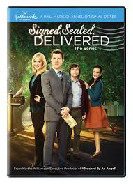Award Winning Hallmark Series – SIGNED, SEALED, DELIVERED: THE SERIES –  Arriving on DVD 4/21 from Cinedigm