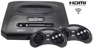 <b>Игровая приставка Sega Retro</b> Genesis HD Ultra 2 + 50 игр (2 ...
