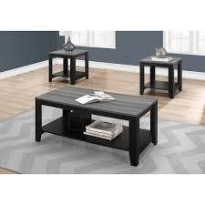 sutliff 3 piece coffee table set