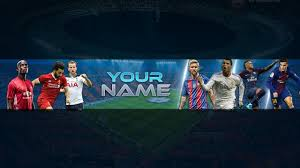 Youtube Channel Banners Free Football Banner Template For Youtube Channel 24 Photoshop I Download 2018