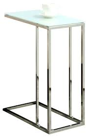 glass top accent table monarch specialties accent table chrome metal with tempered glass small glass top glass top accent table