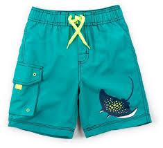 Hatley Little Boys Board Shorts Friendly Manta Rays 5 Years