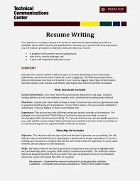 Good Objective For Internship Resume Entry Level Electrical