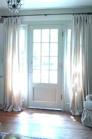 back door window curtain curtains for front doors the best ideas entry treatments
