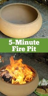 Diy portable fire pit Outdoor Your Family Is Going To Love This Instant Backyard Addition Make Fire Pit Easy Pinterest Make Portable Fire Pit In Just Minutes Outdoor Decorating