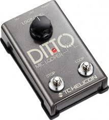 <b>TC HELICON</b> DITTO <b>MIC</b> LOOPER - <b>вокальная</b> педаль эффектов ...