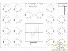 40 x 60 wedding tent table layout
