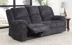 asturias traditional classic microfiber double recliner sofa dark grey side double recliner sofa i17
