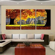 2018 nature canvas art painting scenery pattern for living room wall in living room canvas wall art plan