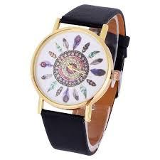 exquisite casual women retro simple pattern watch quartz classic luxury gold mesh strap wristwatch relogio feminino
