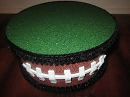 Football Stands Display Cake Pop Cake stand Football ThemeTopper Centerpiece display 36
