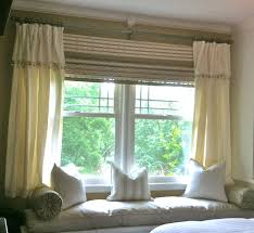 Wide Window Treatments curtains short bay window curtains decorating depiction of how to 3762 by xevi.us