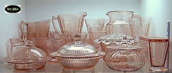 Pink Depression Glass Patterns Stunning Depression Era 48s 48s 48s And Elegant Glass Patterns