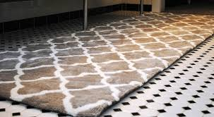 bathroom rug runner