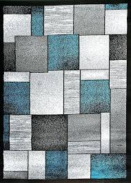 turquoise grey rug gray contemporary area rugs clearance bargain black