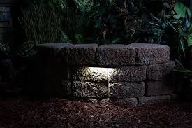 led hardscape light 6 deck step and landscape retaining wall with regard to retaining wall lights ideas
