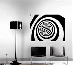 displaying abstract art wall decal view designs modern decor vinyl decals brushed nickel mailbox stencil colorful