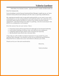9 Retail Cover Letters Examples Bolttor Que Chart