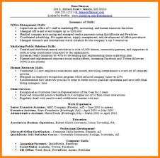 Resume Professional Skills Gorgeous Waiter Resume Sample From Resume Examples Skills Waitress Bination