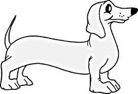 Dachshund Dog Coloring Page Dog Coloring Pages Org
