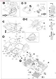 Countach 5000s model car assembly guide5