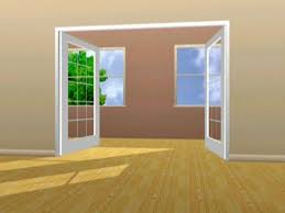 French Door Opening How To Enlarge A Wall Opening For French Doors How Tos Diy