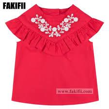 China Spring/<b>Summer</b> Kids/Baby Wear Children Clothing <b>Girl</b> Red ...