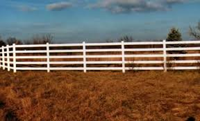 brown vinyl horse fence. Tuff Stuff - 5 Rail Horse Fence Brown Vinyl