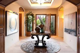 entry foyer table. Traditional Round Entry Table Coffee Console Foyer Furniture Small Entryway Wood Hallway