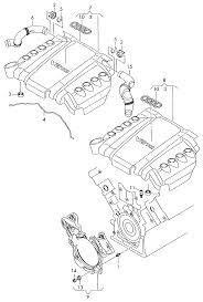 Engine audi aq7 2007 cover for engine partment 4 2 ltr 8 cylinder diesel eng