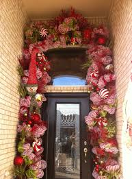 christmas front door decorationschristmas front door decorations  Front Door Decorations For