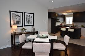 Round Glass Tables For Kitchen Round Glass Table With Wood Base Monarkey Home Staging