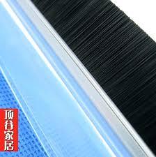 glass shower door sweep self adhesive door sweep door door bottom seal self adhesive strip doors