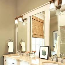 trim around bathroom mirror. Wood Trim Around Bathroom Mirror My Sweet A Great Idea For Those Outdated Mirrors Simply E