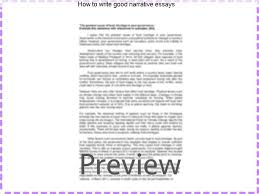 how to write good narrative essays research paper help how to write good narrative essays the following tips how to write a good