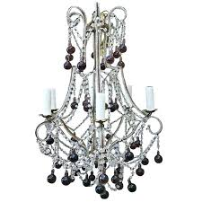 crystal beaded chandelier macaroni crystal beaded chandelier with amethyst drops for dalila beaded crystal chandelier reviews