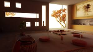 decoration: Best Ideas Of Spacious Living Area With Asian Designs Theme  Also Good Furniture Of