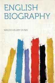 English Biography: Amazon.in: Dunn, Waldo Hilary: Books