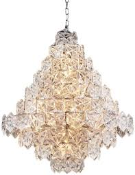 Casa Padrino Luxus Kronleuchter Silber Klares Glas ø 80 X H 95 Cm Hotel Restaurant Kronleuchter Luxus Qualität