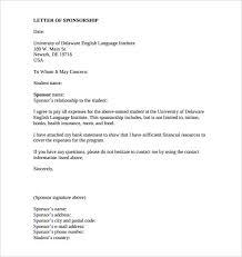 Format Of A Sponsorship Letter Custom Sponsor Letter For Student Ibovjonathandedecker