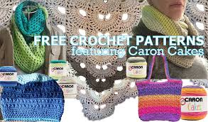 Caron Cakes Yarn Patterns Free Mesmerizing Free Crochet Patterns Featuring Caron Cakes Yarn