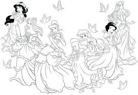 Printable Disney Wedding Coloring Pages Zombies Online Unicorn