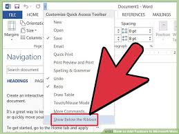 image titled add toolbars to microsoft word step 24